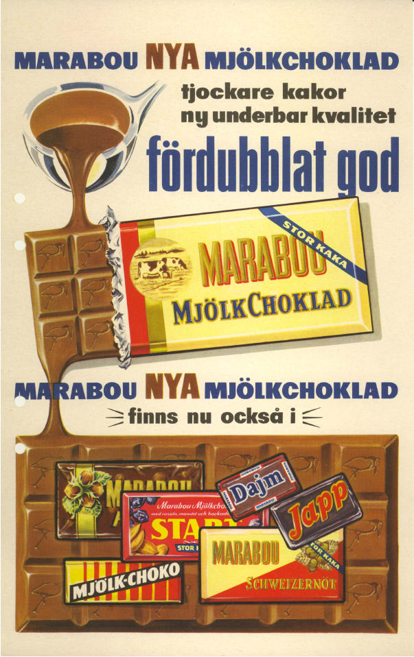 marabous första chokladkaka