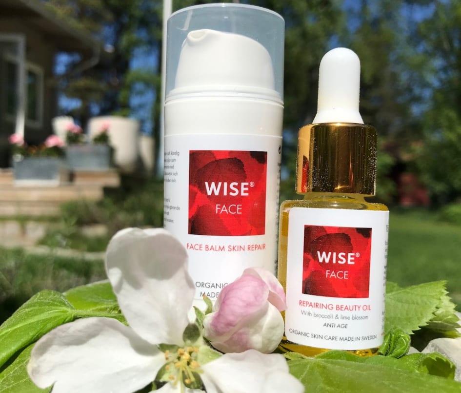 wise hudvård återförsäljare