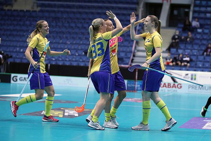 Stephanie Boberg gjorde två mål i dagens match! Foto  Per Wiklund ec0d042038d68