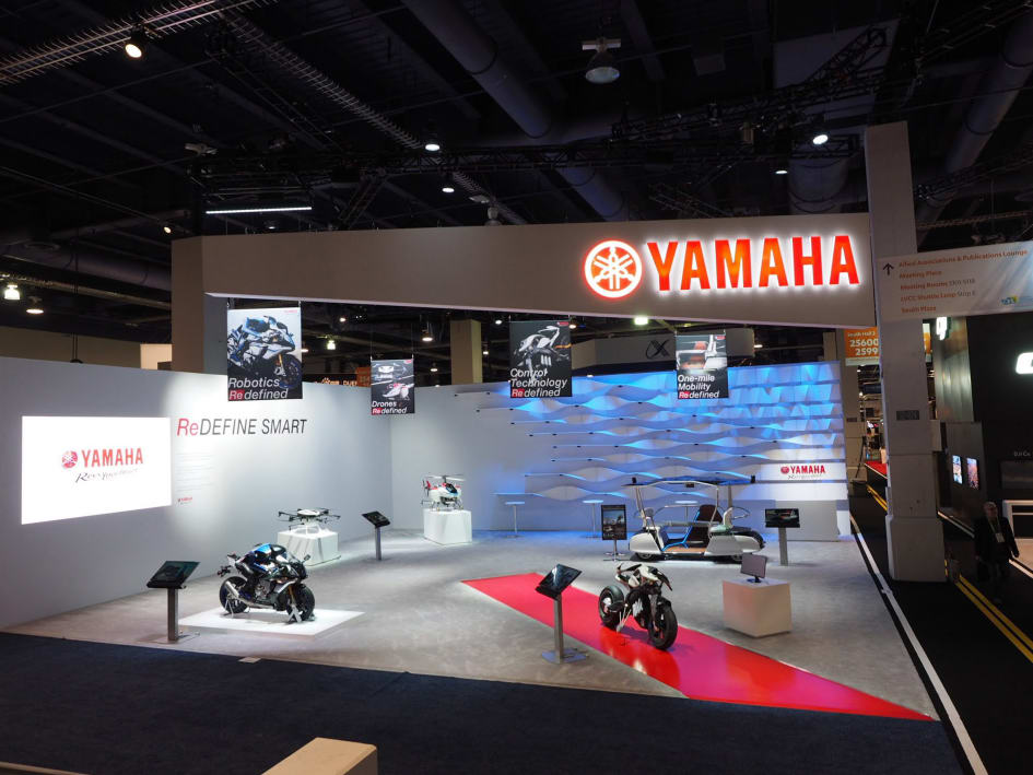 Yamaha at CES 2018 –Showing New and Future Possibilities