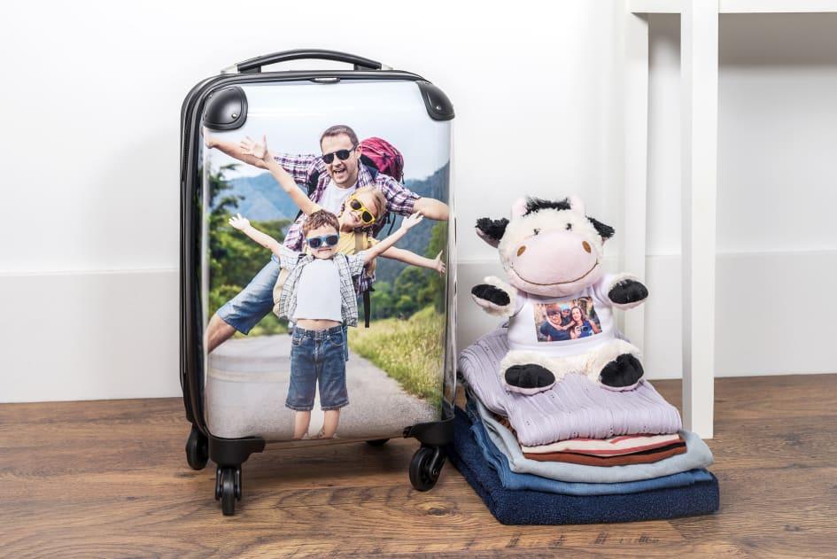 En kabinväska med personligt tryck - enkel att se på bagagebandet! 760036f471e74