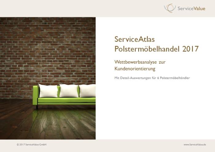 Kundenorientierung bei Polstermöbelhändlern - ServiceValue