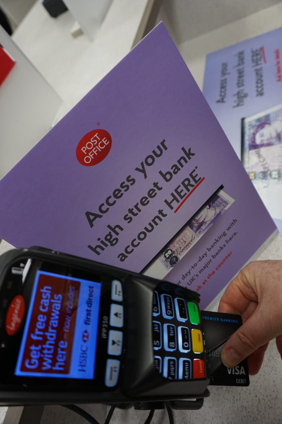 Post Office and UK Banks' partnership secure access to local
