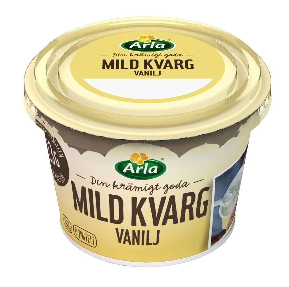 mild kvarg vanilj