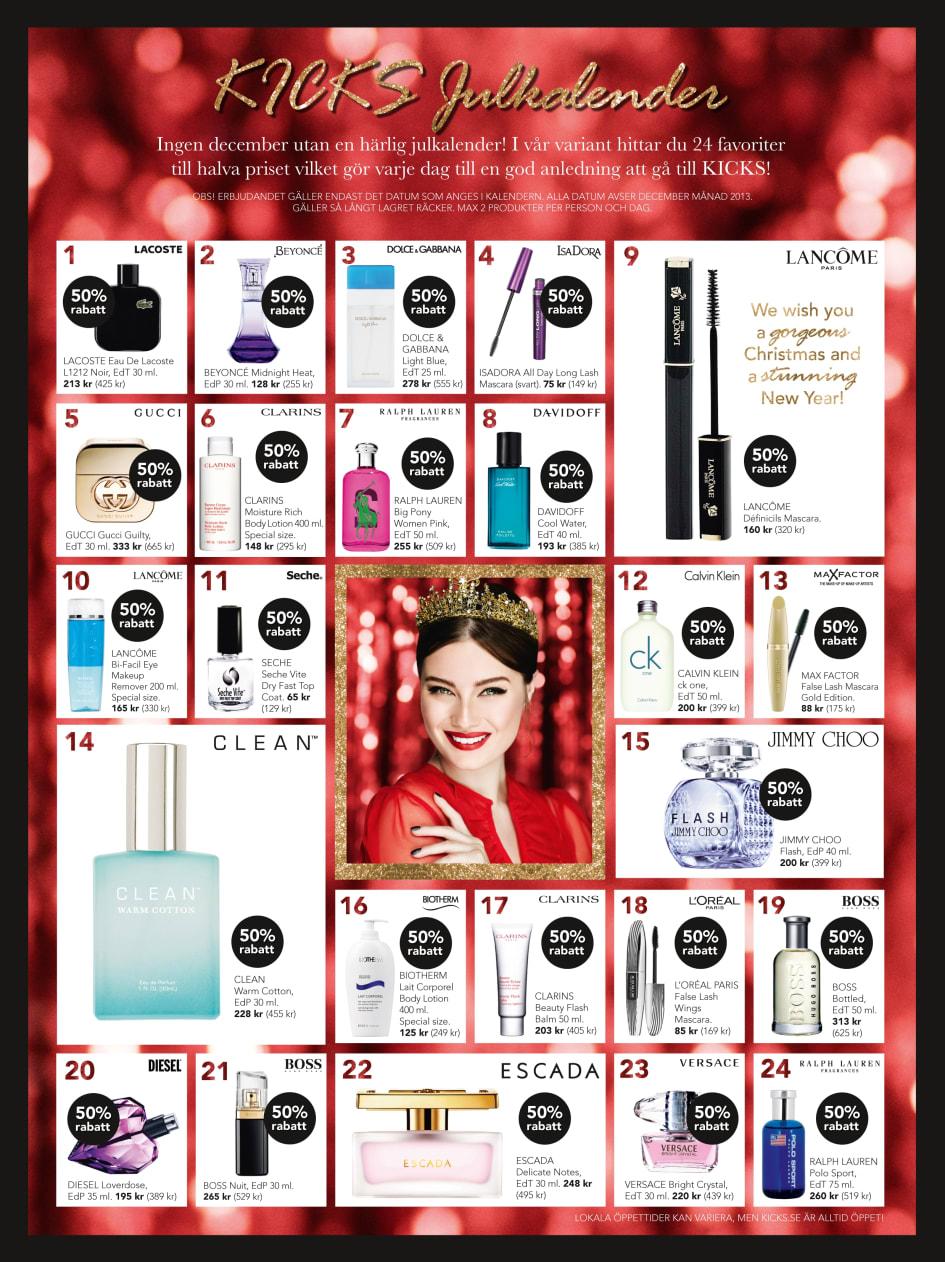 kicks kalender 2016