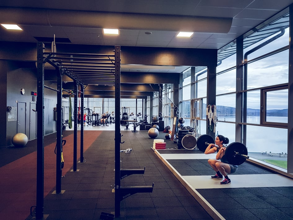 holiday club åre gym