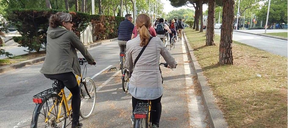 vad väger en vanlig cykel