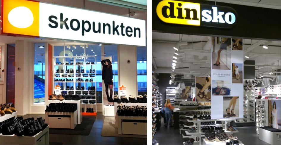 DinSko och Skopunkten öppnar ny butik på Erikslund, Västerås