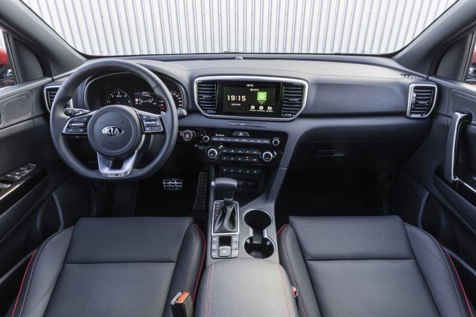 Kia Sportage interior - Kia Motors Sweden AB