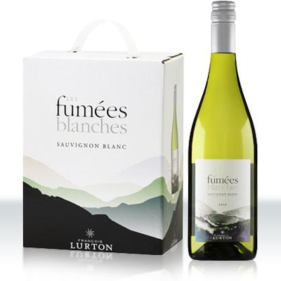 Vitt vin box