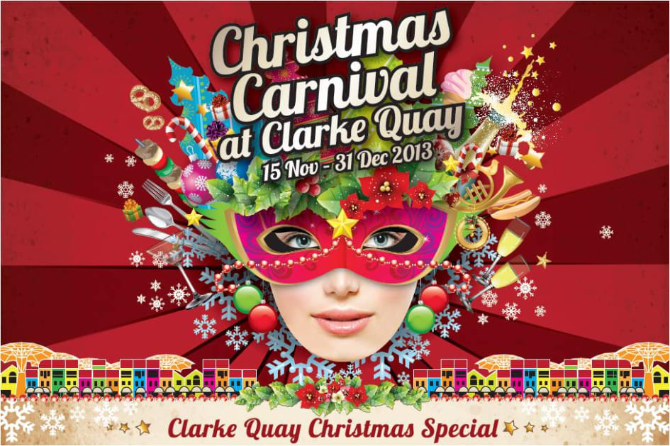 Christmas Carnival Poster.Clarke Quay Christmas Carnival Clarke Quay