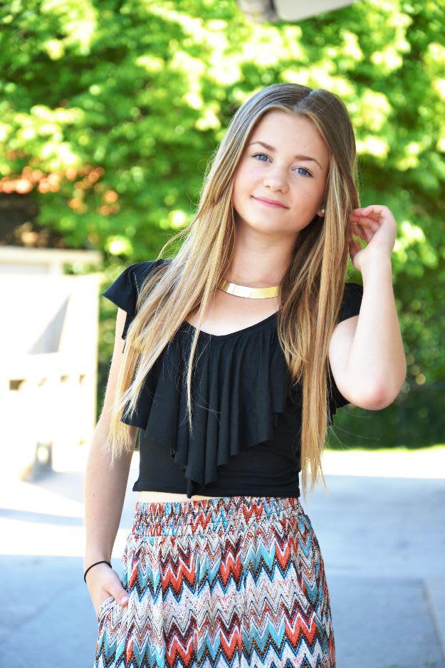 Kidsbrandstore gör kläder tillsammans med YouTube-stjärnan Misslisibell 924917469b404