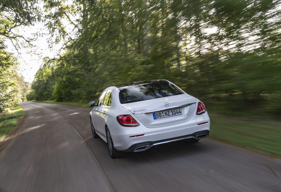 Mercedes e klasse plug in hybride