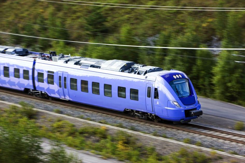 Pågatåg Express Helsingborg Malmö En Lugn Succé Skånetrafiken