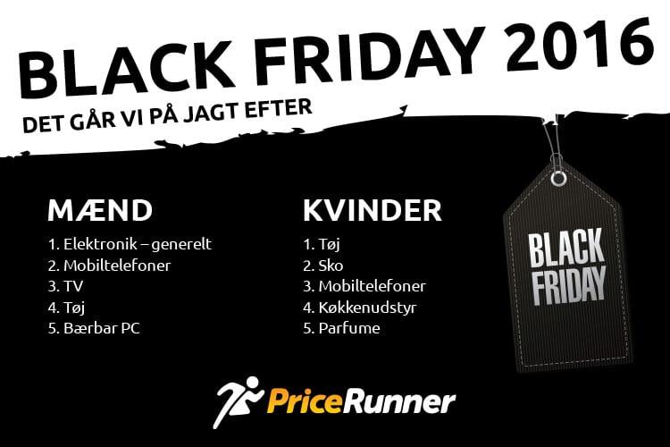 147d45c5e26 Det jagter vi Black Friday - PriceRunner Danmark
