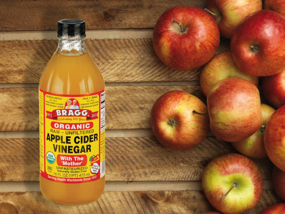 naturligt frisk med äppelcidervinäger