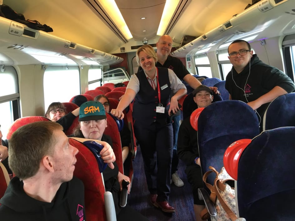 Virgin Trains works with local charity to help remove