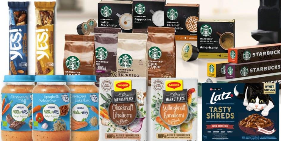 Masse spennende nye produkter fra Nestlé Nestlé Norge