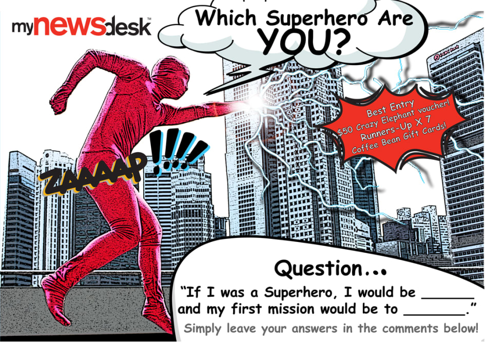 Which Superhero are YOU? Tell us and win a Christmas gift from us ...