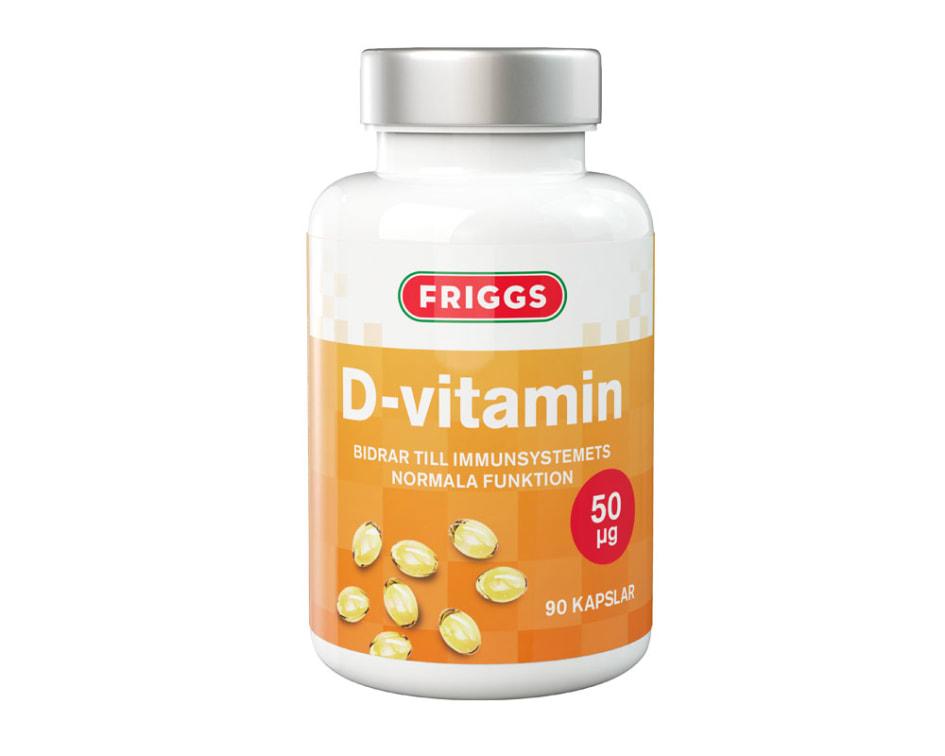 d vitamin tuggtablett
