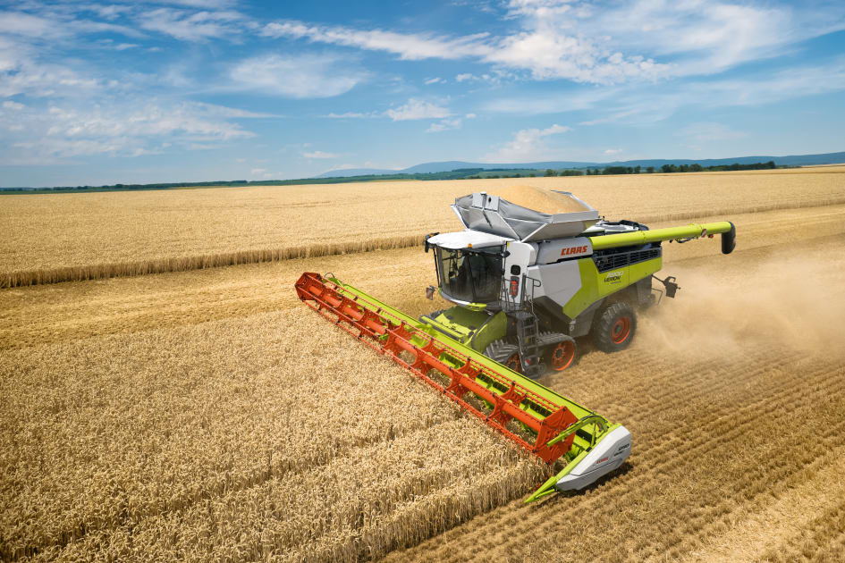 LEXION 8000 and 7000: New high-performance combine