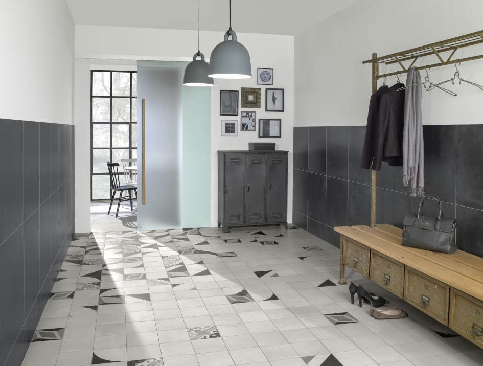 Villeroy U0026 Boch Tiles New Products 2016   CENTURY UNLIMITED: Stylish  Designs In Black And Different Shades Of Grey