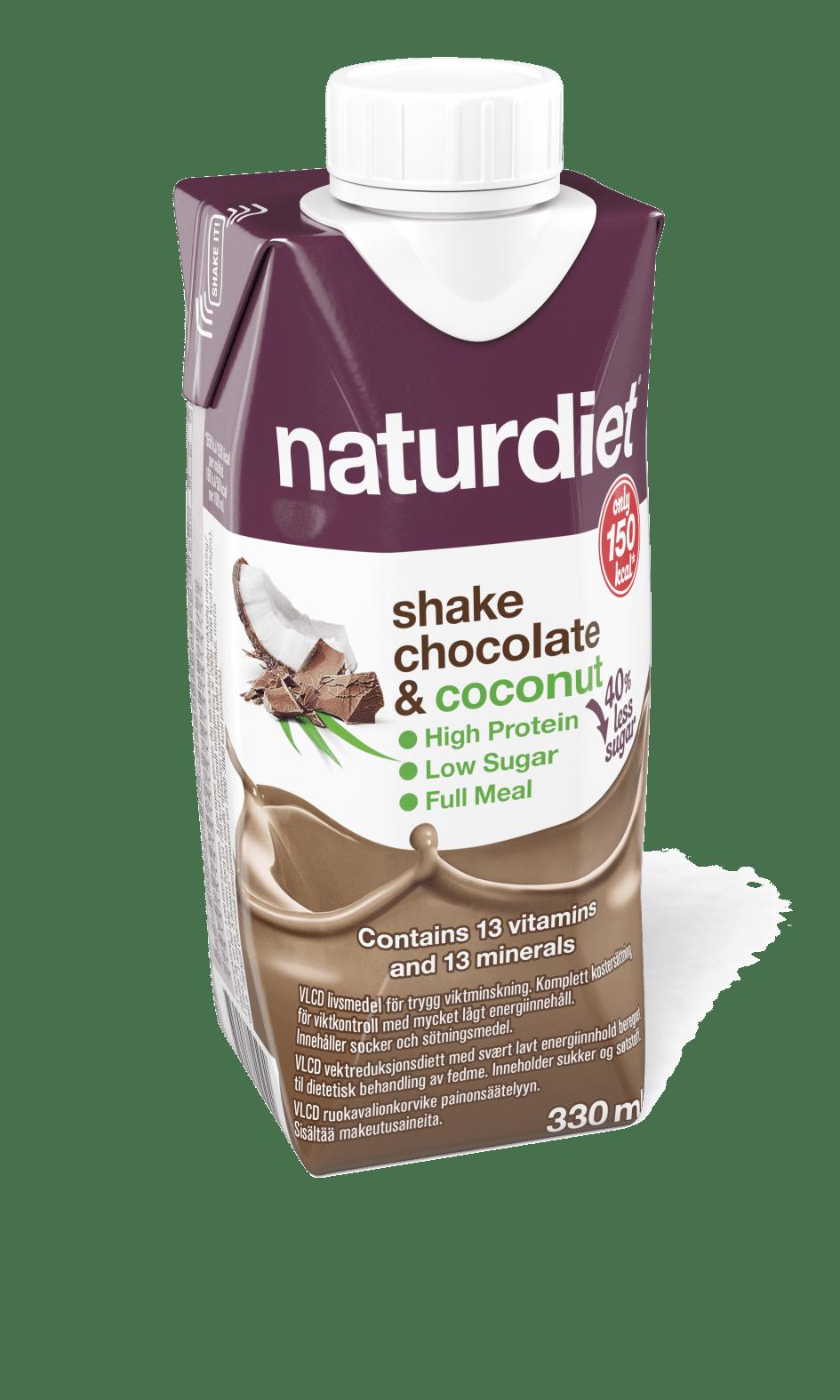 naturdiet shake chocolate