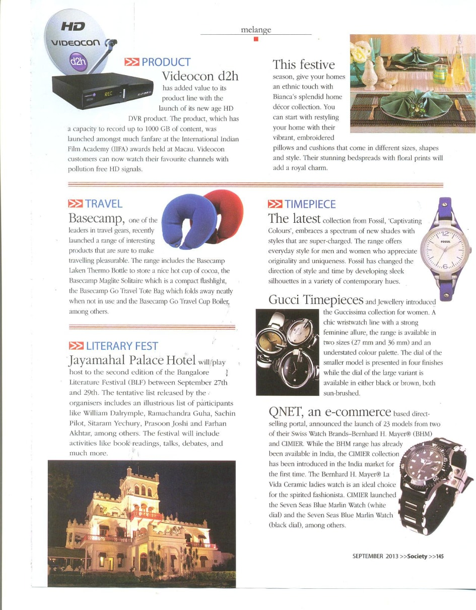 QNET in India's Society Magazine - QNET Global
