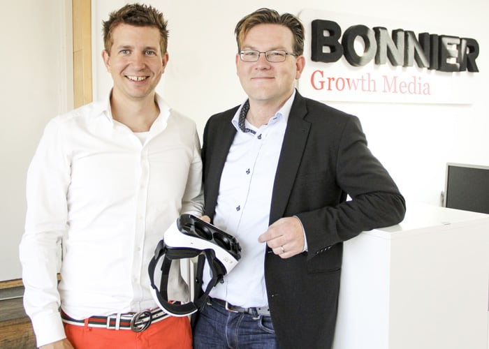 Bonnier Growth Media Invests in Virtual Reality play studio