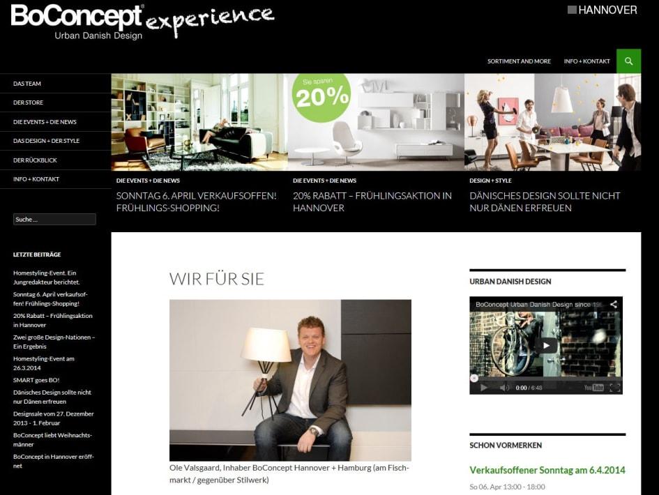 Boconcept Hannover Steht Für Erstklassiges Dänisches Möbel Design