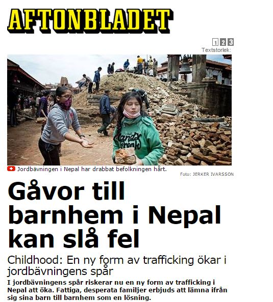 Sa kan du hjalpa de drabbade i nepal