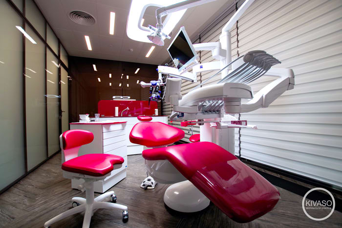 3Dent dental clinic in Moscow believes in design, innovation