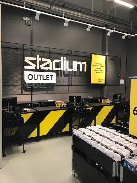 stadium outlet norrköping lediga jobb