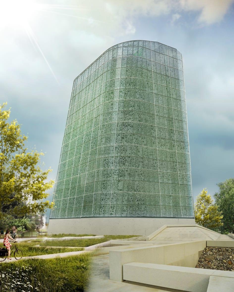 the plantagon world food building in linköping sweden awarded