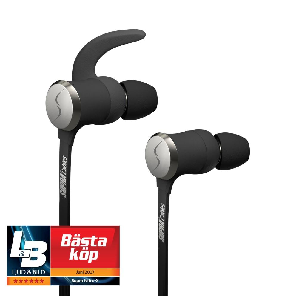 SUPRA NiTRO-X (trådlösa hörlurar) tilldelades