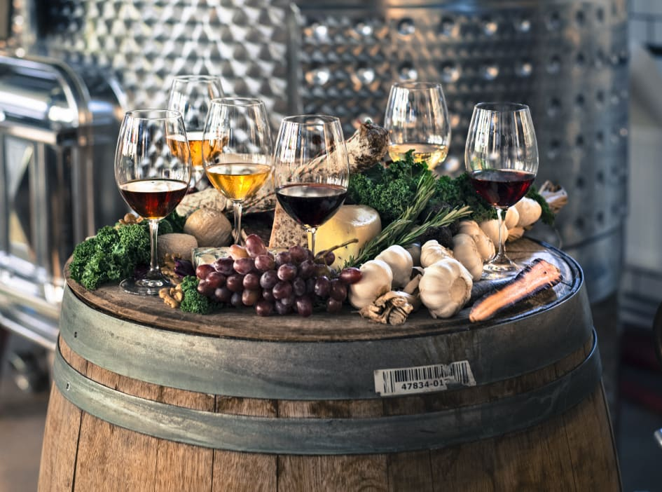 Kombinera vin och mat