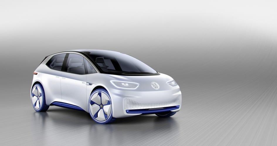 Verdenspremiere Volkswagen Praesenterer Revolutionerende
