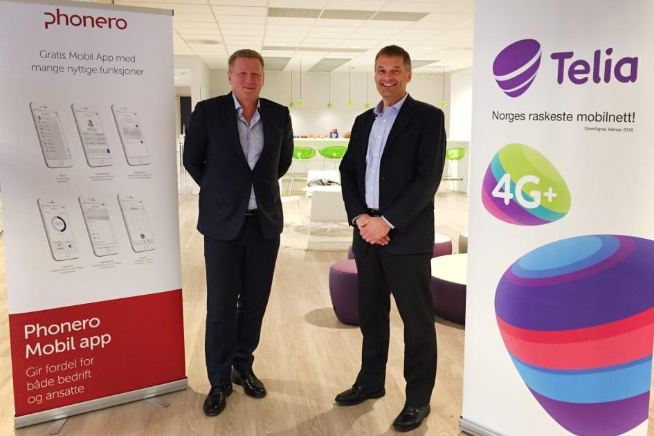 Trer av  Gründer av Phonero Thore Berthelsen går av etter 8 år som leder av  selskapet. 6b34ce1efd26c