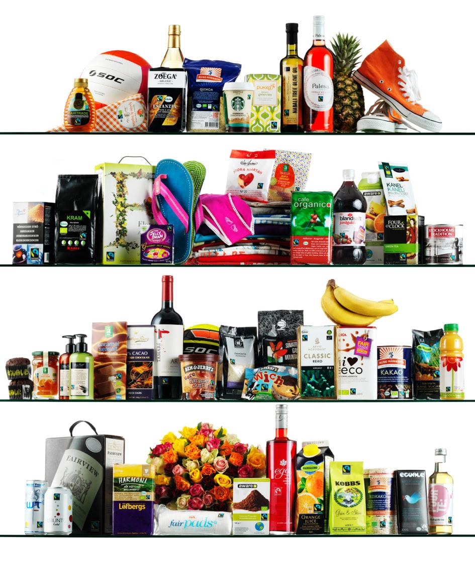 fairtrade produkter