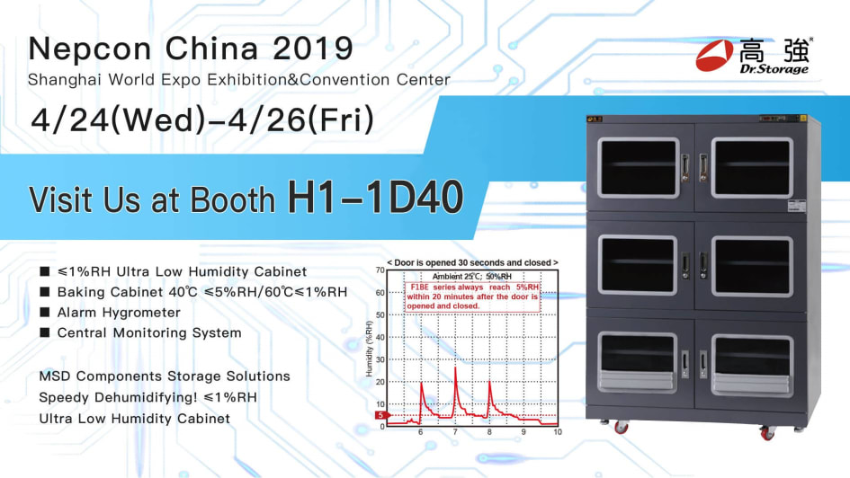 Dr Storage -NEPCON China 2019 runs April 24 – 26 - TradeAsia