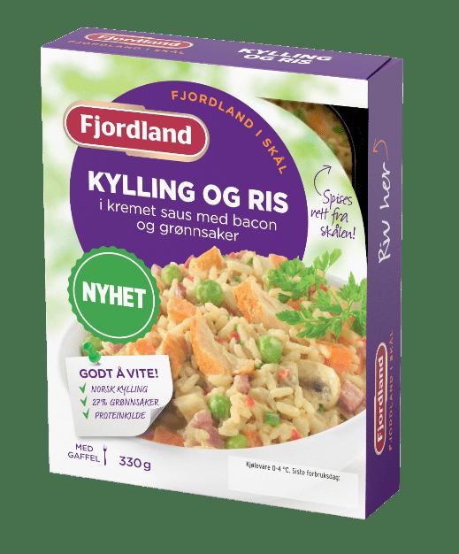 Kylling Og Ris Fjordland
