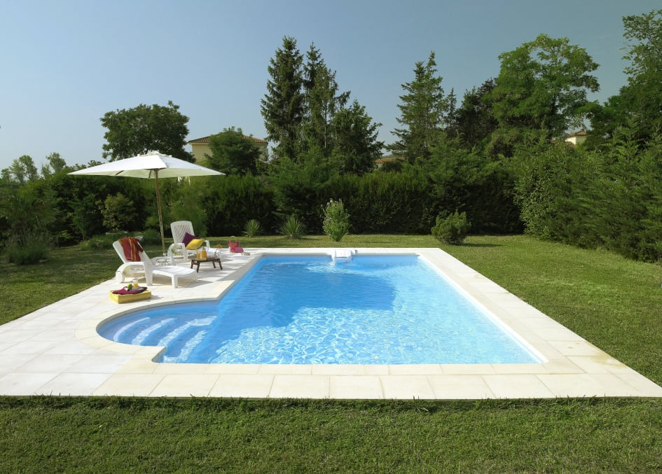 Swimmingpool Garten - Desjoyaux Pools GmbH