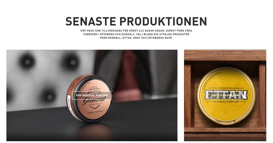 swedish match fabrik kungälv