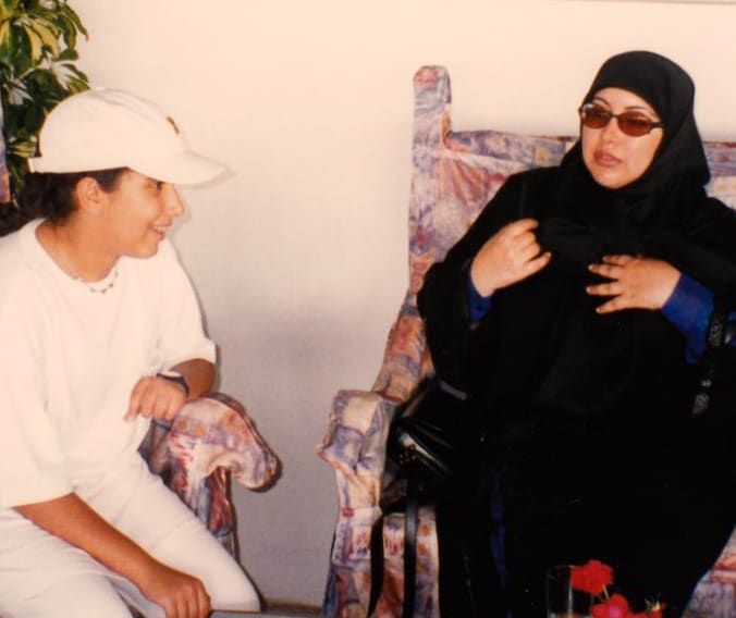 MOTHERS DAY CALLS TO MOTHER OF KIDNAPPED PRINCESS LATIFA TO