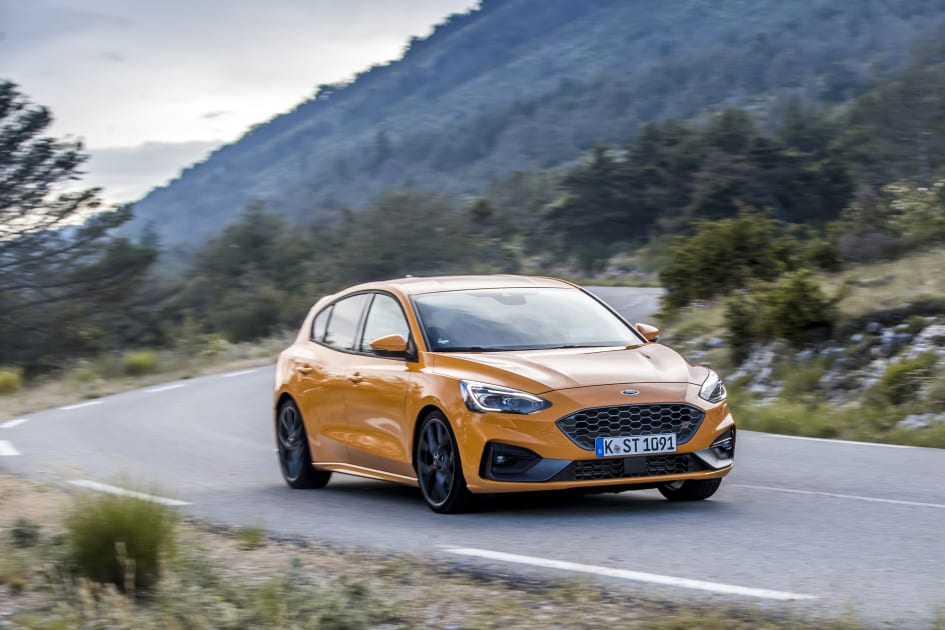 Ford Focus St Orange Fury Ford Motor Company Switzerland Sa