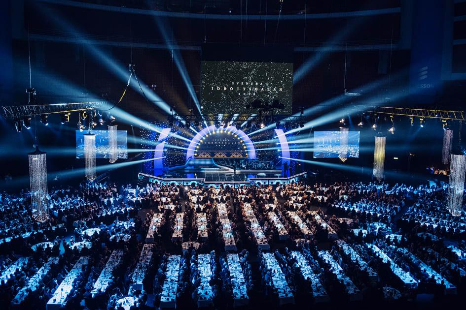 Idrottsgalan 2016 halltiderna for tv och alla nominerade