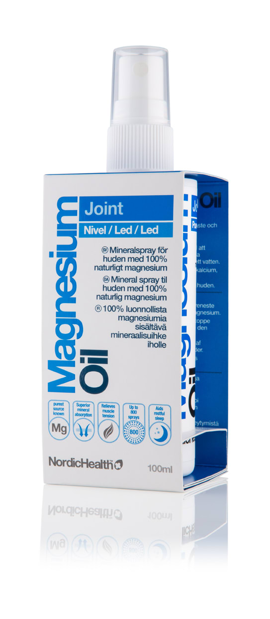 magnesiumspray mot värk