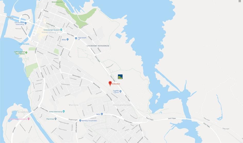 Karta Vanersborg.Karta Till Montagevisning Av Boklok Landeriet Holmangs Hage