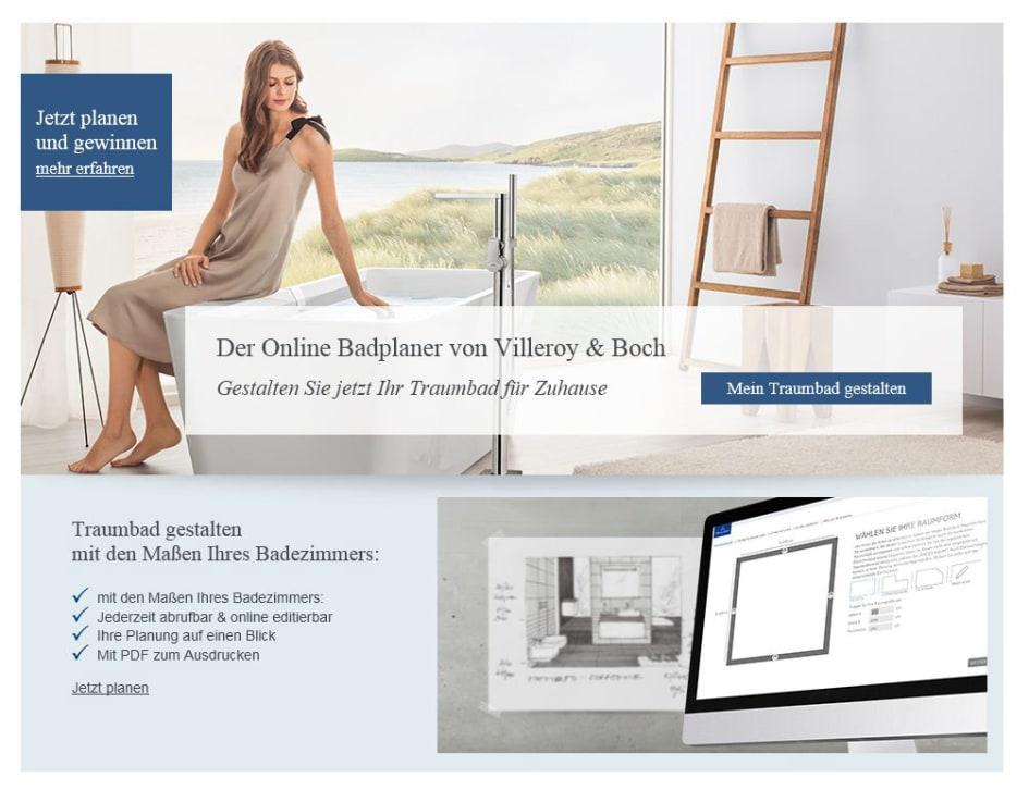 online Badplaner - Villeroy & Boch