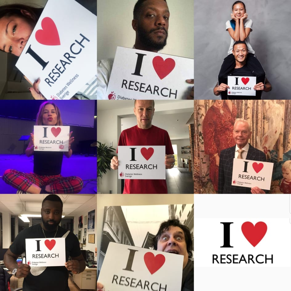I Love Research2 Diabetes Wellness Sverige